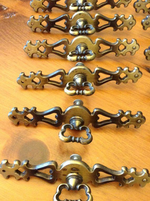 Cabinet Hardware Drawer Handles 8 Handles Per by TheForestSleeps
