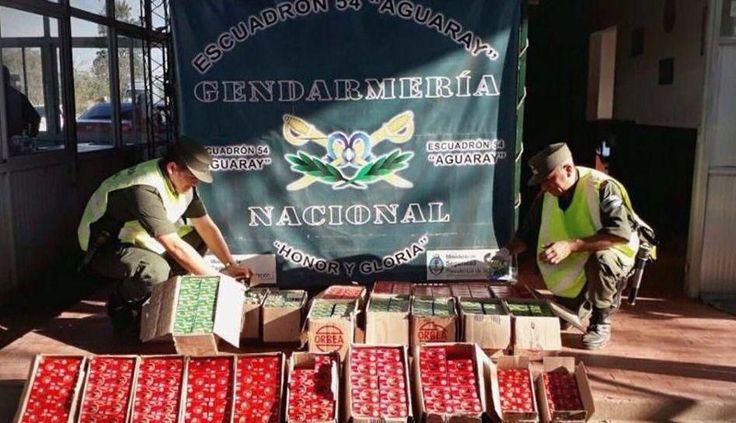 Gendarmería incautó 12.500 cartuchos para escopetas de distintos calibres en Aguaray: Los paquetes estaban en el asiento trasero de un…