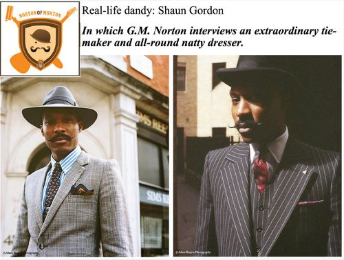 Norton Of Morton Interviews Shaun Gordon  Read full Interview Here: http://www.nortonofmorton.com/2014/09/real-life-dandy-shaun-gordon.html  Photography (1967 Nikon F Photomic): http://instagram.com/adam_rogers_