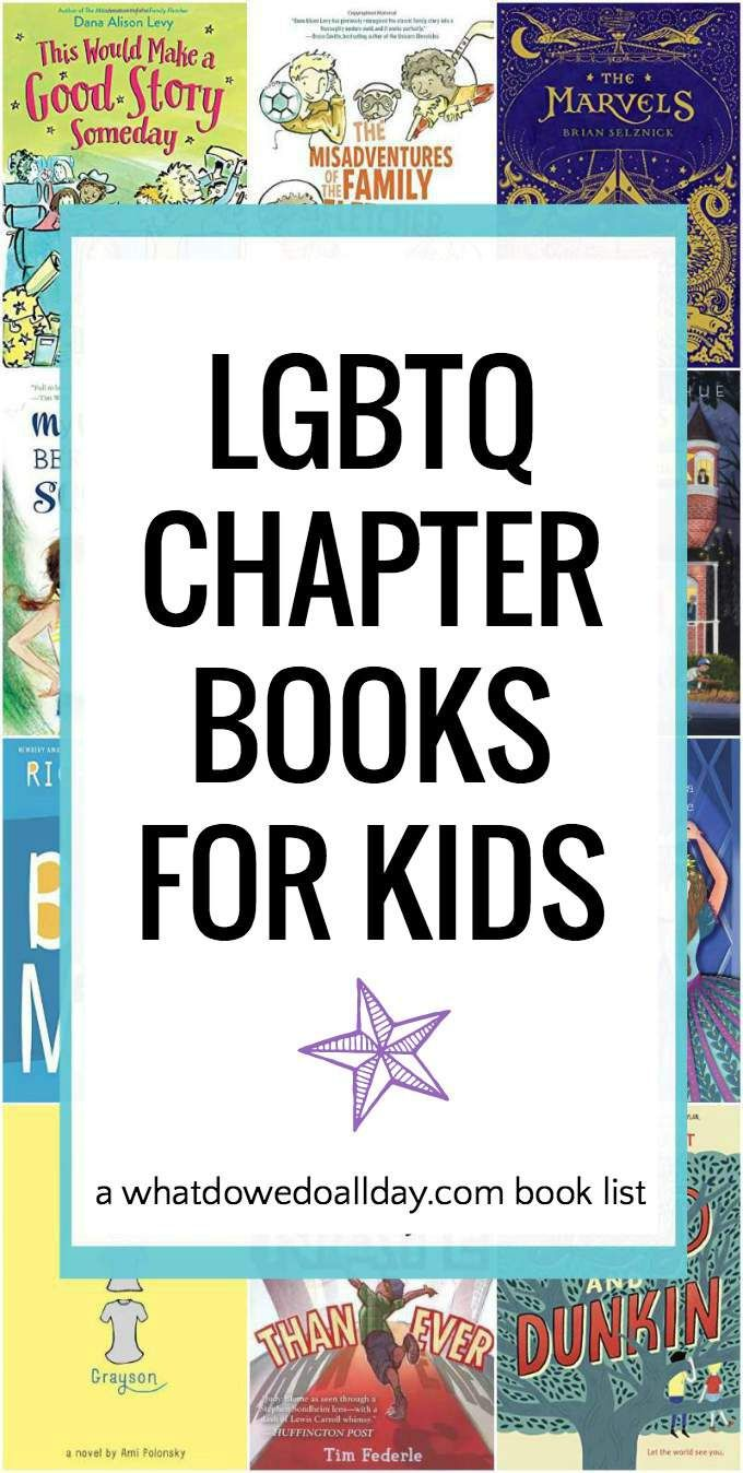 LGBTQ books for children ages 10 and up. Some books for 8 and up. For more gender nonconforming pins, follow @connectforkids