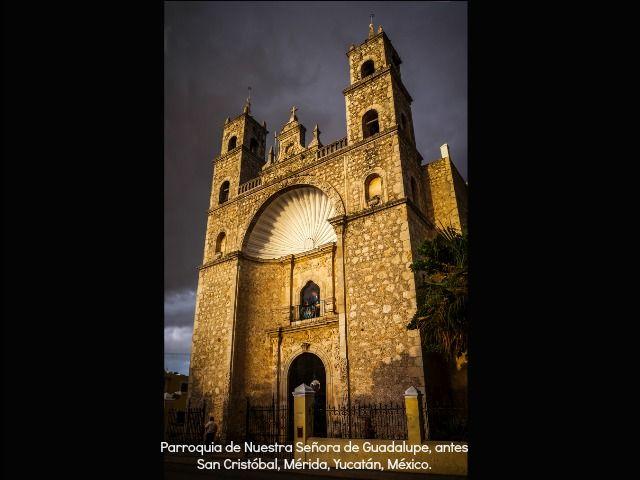 Parroquia de Nuestra Señora de Guadalupe, antes San Cristóbal, Mérida, Yucatán, México. Foto: Mario Morales