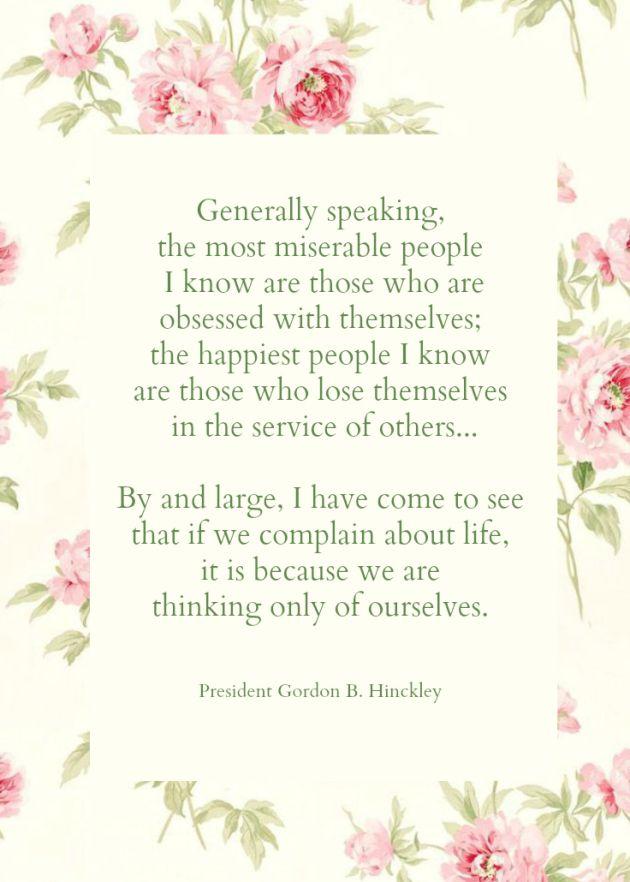 gordon b hinckley quote