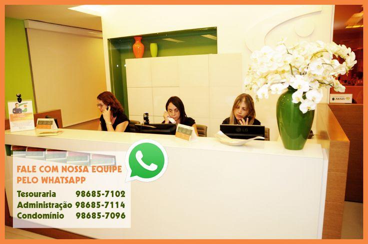 Fale com a nossa equipe pelo WhatsApp!