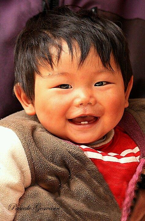 Smiling little boy, Nepal.