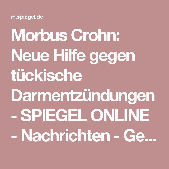 Morbus Crohn: Neue Hilfe gegen tückische Darmentzündungen - SPIEGEL ONLINE - Nachrichten - Gesundheit