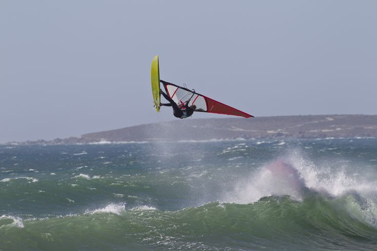 Surf Test Team testing the new Windsurf Equipment.