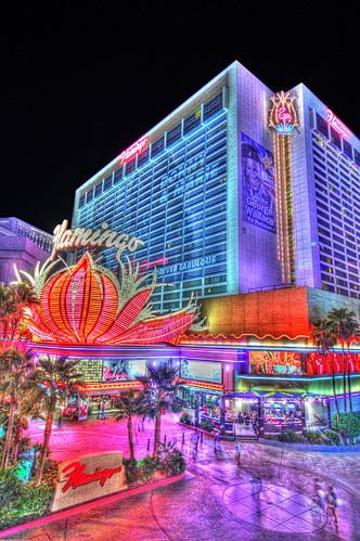 The Flamingo, Las Vegas Hotel Love the history even though its not the original Bugsy Siegal bldg