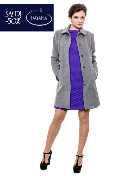 """CAPPOTTO DAYANA IN LANA E CASHMERE COLLEZIONE AI 2013/14 """"SALDI -50%""""  #fashion #moda #sale #saldi #shopping #fw #woman #madeitaly  #curvy #casual  Cappotto collo chiuso, Vestibilità aderente, Tasche inserite nei tagli, Lunghezza sul ginocchio, Manica lunga, Made in Italy.  http://www.dayanaboutique.com/shop/it/cappotto/35-CAPPOTTO-DAYANA-IN-LANA-E.html"""