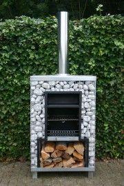 De lagasten tuin haard met barbecue | Buitenhaarden | Tweeko Outdoor Lifestyle | Webshop