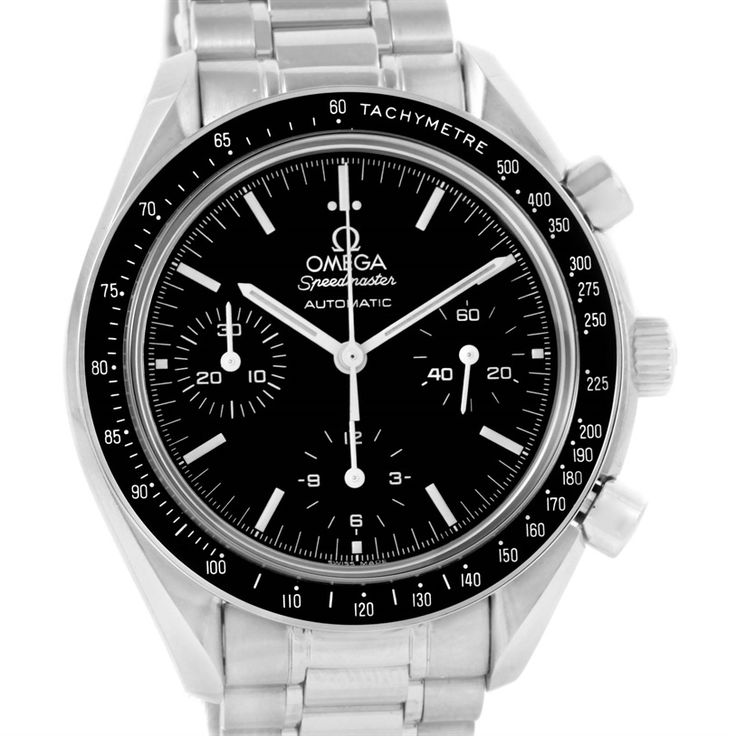 14829 Omega Speedmaster Reduced Sapphire Crystal Watch 3539.50.00  SwissWatchExpo