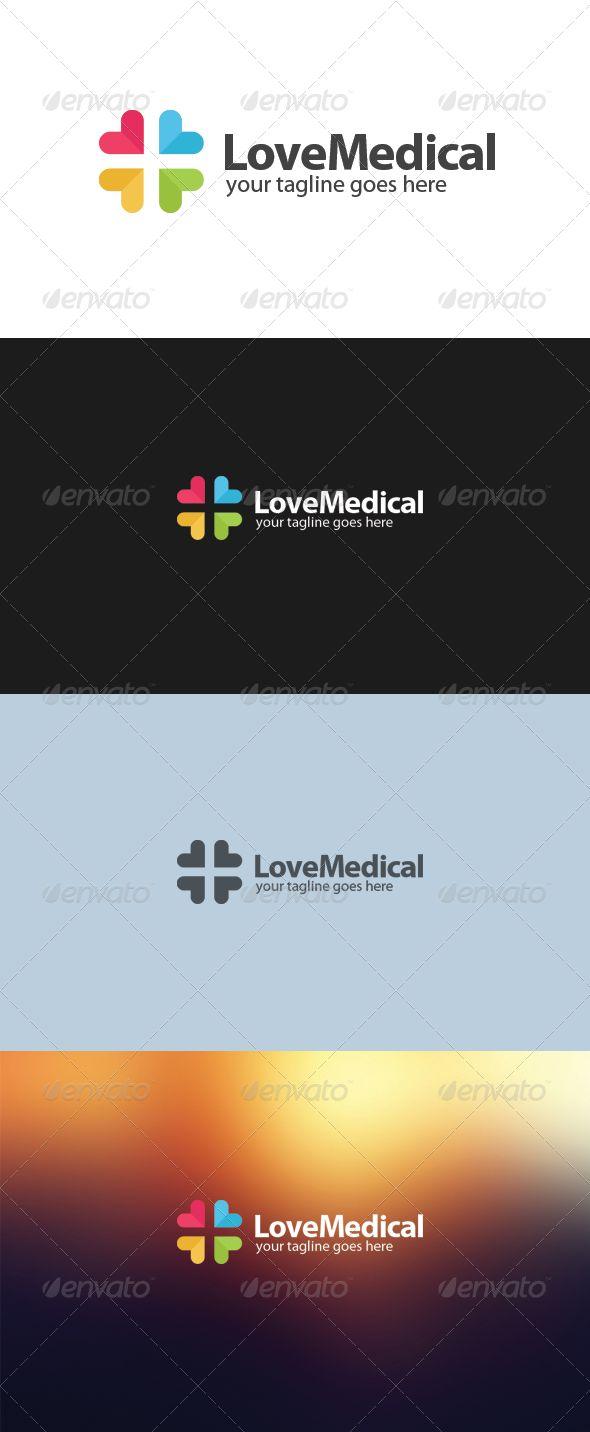 Love Medical Logo 24 best health logo