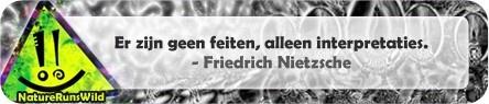 Er zijn geen feiten, alleen interpretaties. - Friedrich Nietzsche http://naturerunswild.com/spreuken-realiteit.php #citaat