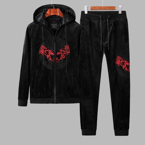 9b99fbe8cd2 Wholesale Cheap Versace Mens Tracksuit for Sale | men clothes ...