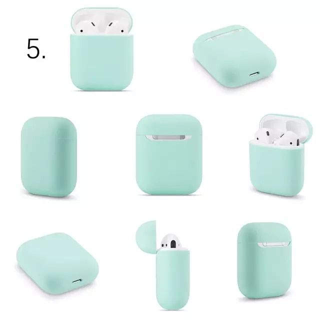 Casos De Silicone Macio Para Apple Airpods 1 2 Caso Protetor Bluetooth Sem Fio Fone De Ouvido Capa Para In 2021 Bluetooth Wireless Earphones Earphone Protective Cases
