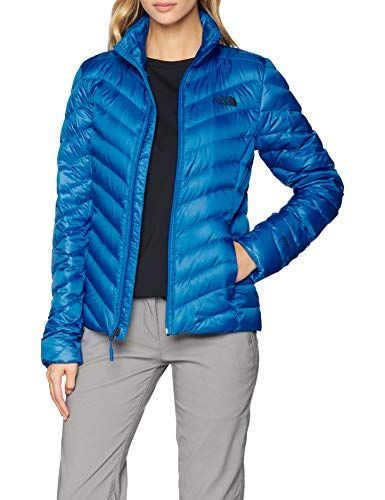 bfbf77e320708 The North Face W Jkt Chaqueta Trevail Mujer Bomber Blue XL