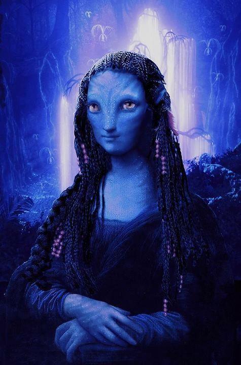 Mona Lisa Avatar style