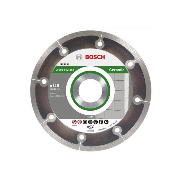 Bosch dry diamond angle grinder blade 115mm 2608602368