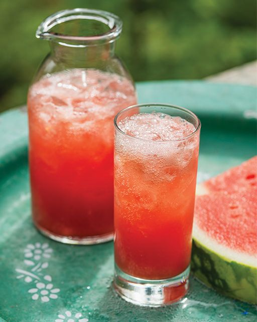 Watermelon Ginger Fizz - #thedailydagny #sweetpaul