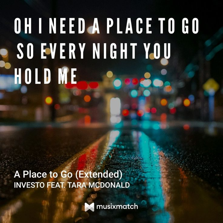 A Place To Go-