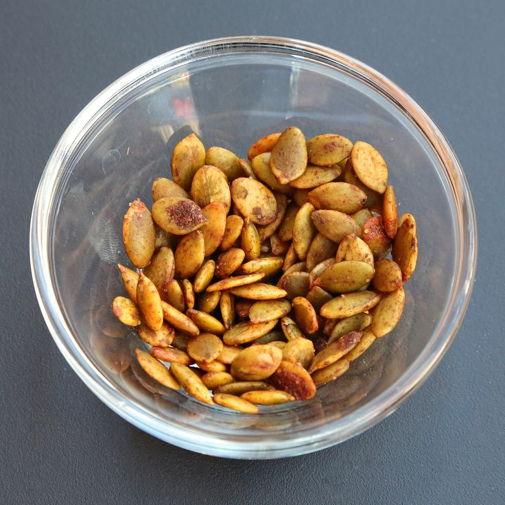 While the seeds straight from the pumpkin are delicious, the more concentrated nutritional value comes from raw pepita seeds.