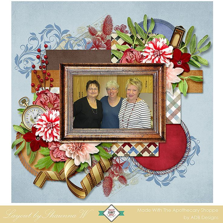The good times and the painful times documented  with The Apothecary Shoppe by #ADBDesigns, #digitalscrapbooking,