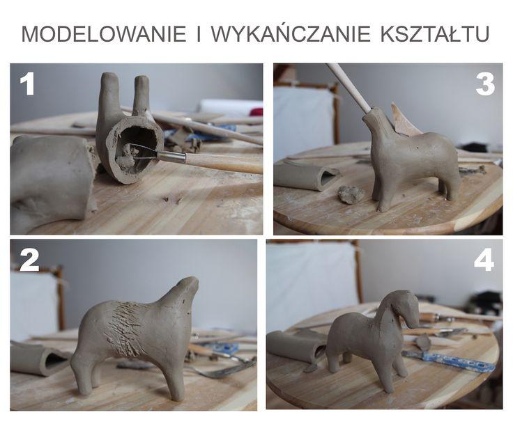 Jak zrobić ceramicznego konika. Ceramiczny konik. (cz.3) How to make a ceramic horse. Ceramic horse. Slavic horse. Pottery horse