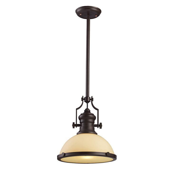 71 best industrial pendant lighting images on pinterest pendant chadwick 1 light pendant shown in oiled bronze by elk lighting 66133 1 aloadofball Gallery