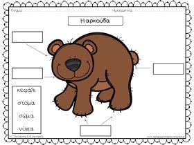 Η αρκούδα, ο λύκος, η αλεπού, ο σκίουρος, το ελάφι, το σπουργιτάκι, η κουκουβάγια, το ποντίκι, ο ασβός, η χελώνα, ο σκαντζόχοιρος και ...