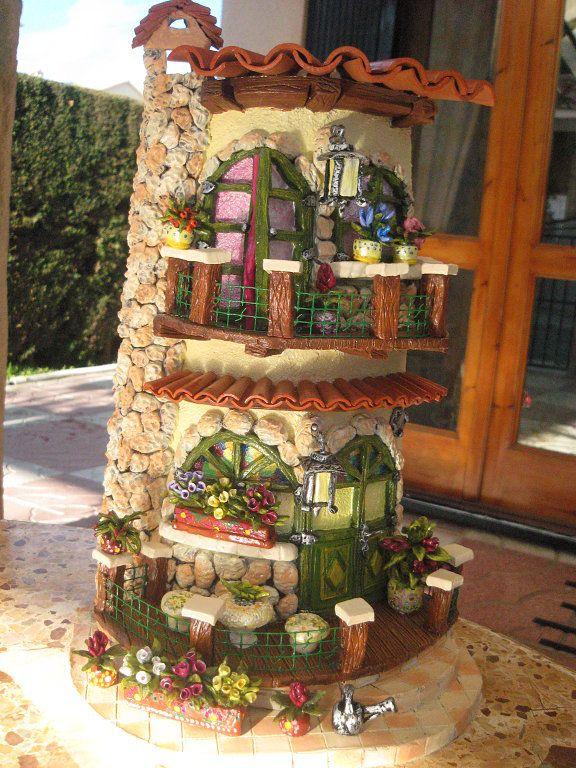 tejas decoradas en relieve (pág. 101)   Aprender manualidades es facilisimo.com