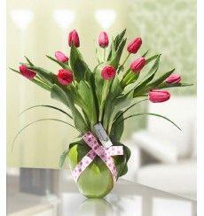 Tulipanes - arreglos florales   floreria lima - Amatista - Arreglos Florales