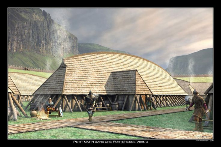 images of scandinavian vikings | Viking Fortress | Scandinavian Style