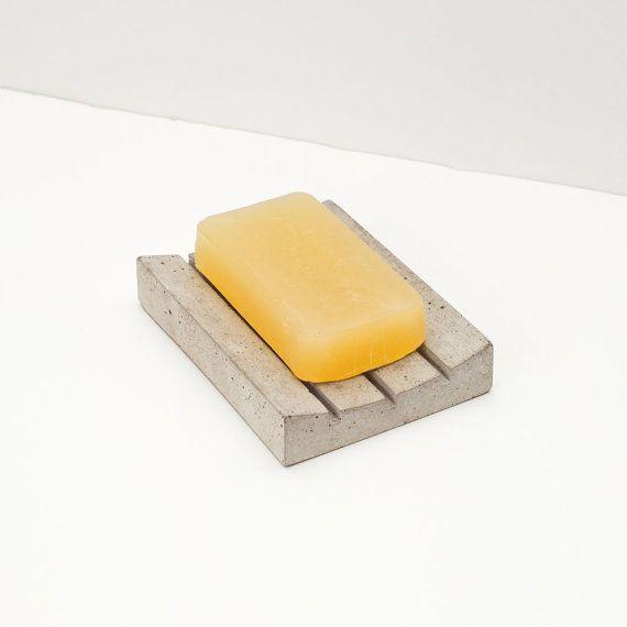 Concrete Soap Dish von OKConcrete auf Etsy