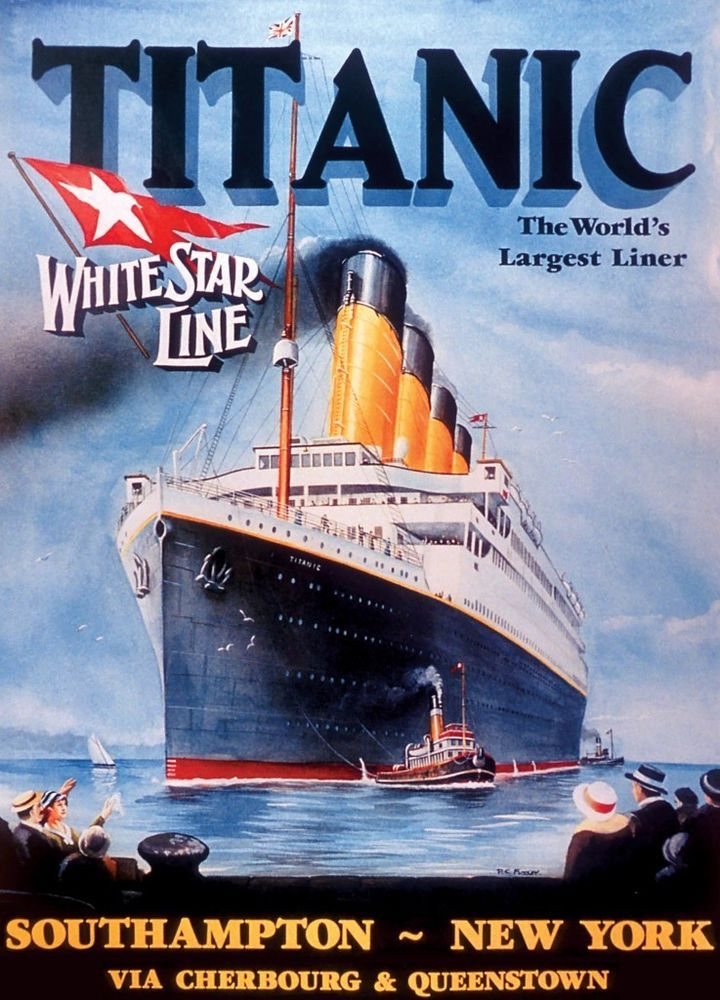 MasterPieces 1000 PC Jigsaw Puzzle Titanic White Star Line ...