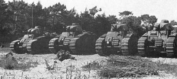 독일군에게 전의를 상실했던 프랑스군과 샤르 B1 전차 - 유용원의 군사세계