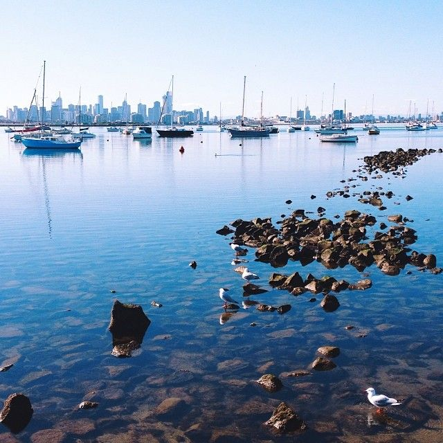 Melbourne, today you showed off and acted a bit like Perth ⚓️