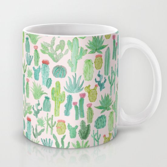 Buy Cactus by Abby Galloway as a high quality Mug. Worldwide shipping available at Society6.com. Just one of millions of products available.