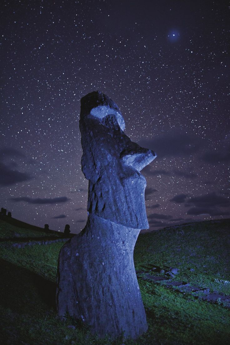 Easter Island - is a Polynesian island in the southeastern Pacific Ocean