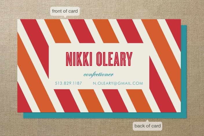 cheerful business card: Graphics Stripes, Business Cards, Branding Inspiration, Candy Stripes, Graphics Design, Stripes Business, Products, Call Card, Calling Cards