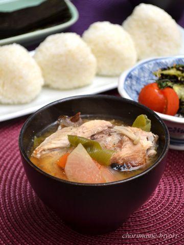 ブリのあら汁と塩むすび。の、週末だけど~の晩ご飯。 by 西山京子 ...