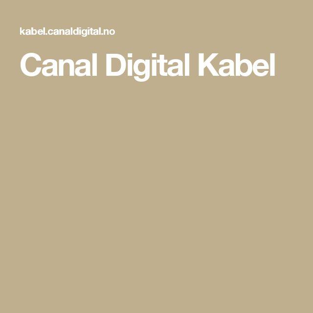 Canal Digital Kabel