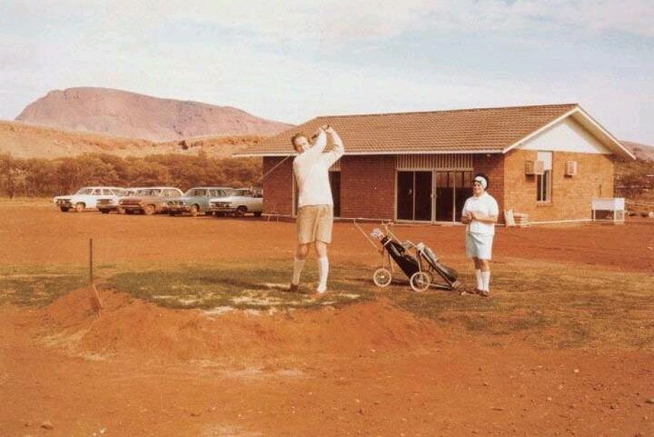 Karratha country club, WA 1960s