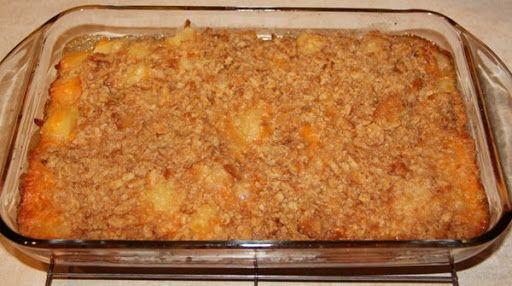 Paula Deen's Pineapple Casserole Recipe – (4.4/5)