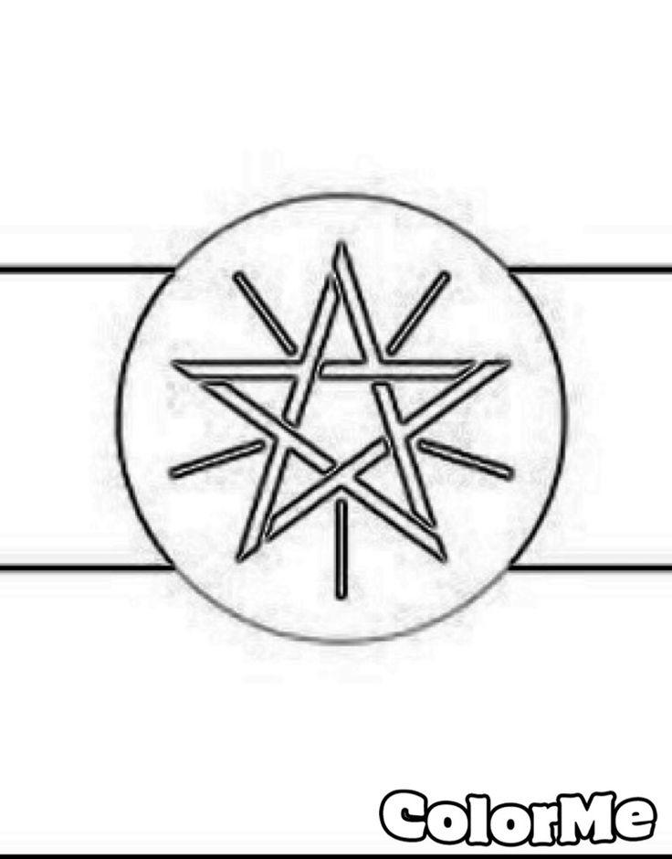 Color the Ethiopian flag after you find it on Fletcher's FB page.  #Fletcherthegoat