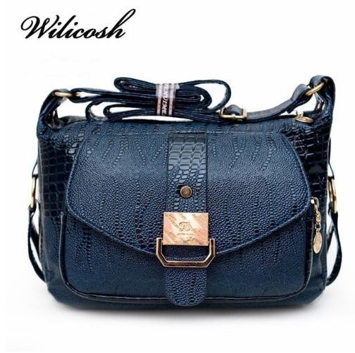 Fashionable Women case Bags shoulder Messager Bags Polyurethane Leather Handbags #Wilicosh #Messengerbag