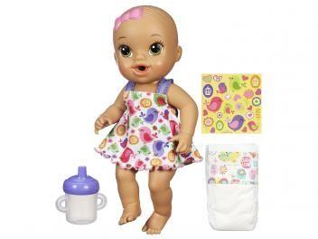 Boneca Baby Alive Hora do Xixi - Hasbro          PROMOÇÃO IMPERDÍVEL , CONFIRA !  Boneca Baby Alive Hora do Xixi - Hasbro por R$ 119,90   em até 3x de R$ 39,97 sem juros no cartão de crédito  ou R$ 107,91 à vista (10% Desc. já calculado.)