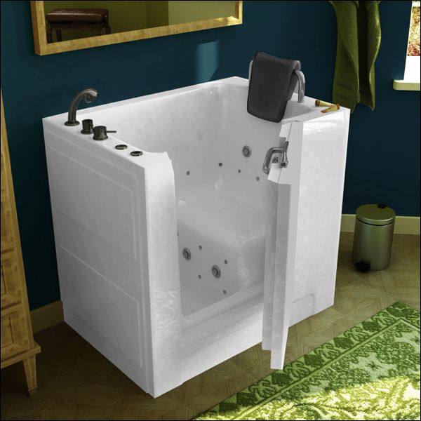A Walk In Tub Like This Can Make A Senior Feel Safe And Remain Independent.