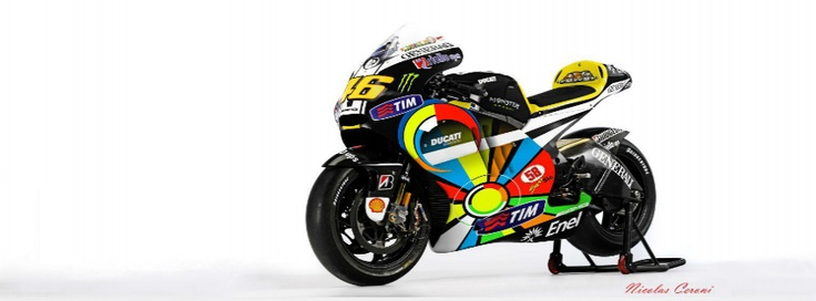 Get the new Valentino Rossi - Ducati Bike Facebook Cover for your Facebook profile