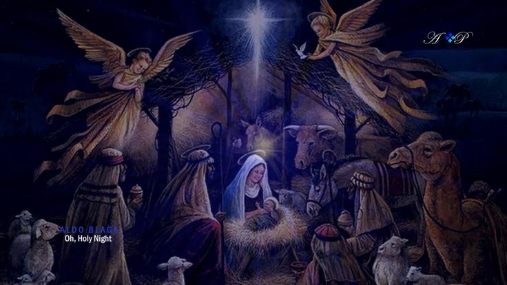 🎄 Merry Christmas 🎄 Oh, Holy Night 🎄 ALDO BLAGA