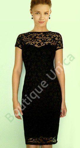 vestido preto longuete em renda! forro nude! coleção 2013!