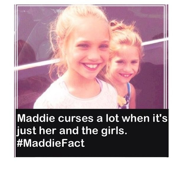 •Maddie Fact• Wow that's surprising! She shouldn't be the fact that she is so young